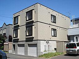 北海道札幌市東区北三十五条東15丁目の賃貸アパートの外観
