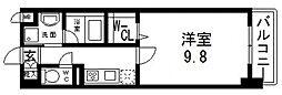 フェリオ[603号室号室]の間取り
