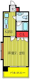 東京メトロ丸ノ内線 新大塚駅 徒歩2分の賃貸マンション 9階1Kの間取り
