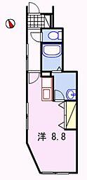 ロイヤルサンマリノ[1階]の間取り