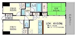 ザ・レジデンス東三国[15階]の間取り