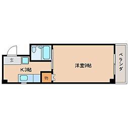 静岡県静岡市葵区幸町の賃貸マンションの間取り