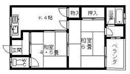 阪南マンション[1階]の間取り