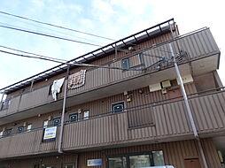 東京都東大和市新堀1丁目の賃貸マンションの外観