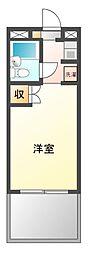 メゾン習志野[3階]の間取り