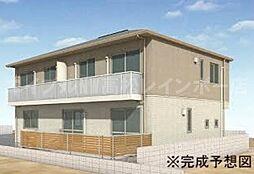 香川県高松市上之町3丁目の賃貸アパートの外観
