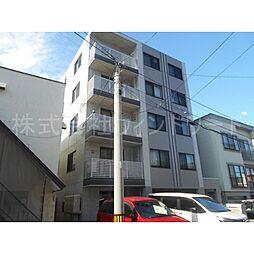 北海道札幌市中央区南十八条西13丁目の賃貸マンションの外観