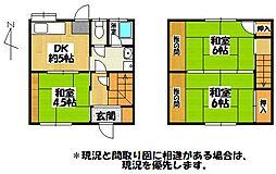 Mi-CASA荘[1号号室]の間取り