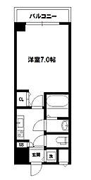 W-STYLE新大阪Ⅱ[13階]の間取り