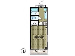プリモ・アモーレ[3階]の間取り