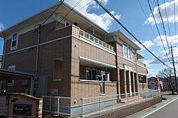 愛知県岡崎市若松町字北之切の賃貸アパートの外観