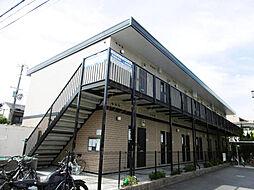 大阪府堺市堺区香ヶ丘町4丁の賃貸アパートの外観
