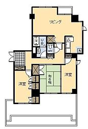 クレコマンション[3号室]の間取り