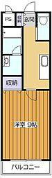 シュガーハウス[1階]の間取り