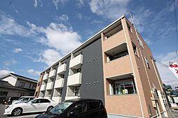 広島県福山市東吉津町の賃貸アパートの外観