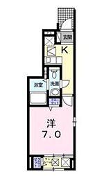 T・PLACE II[1階]の間取り