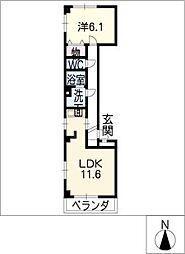 グレース上野[3階]の間取り