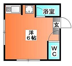 サーティワンヤナシマ[3階]の間取り