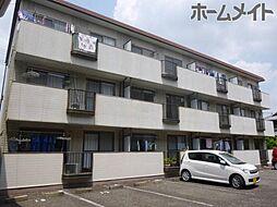 柿沢ハイツB[1階]の外観