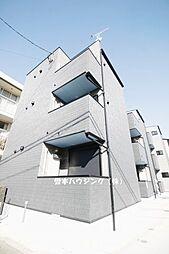 兵庫県尼崎市大物町1丁目の賃貸アパートの外観