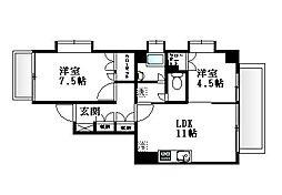 東急東横線 学芸大学駅 徒歩14分の賃貸マンション