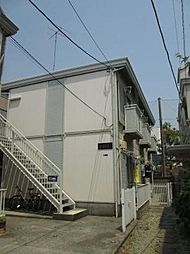 神奈川県川崎市中原区小杉陣屋町1丁目の賃貸アパートの外観