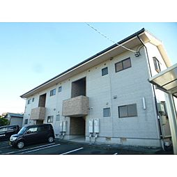 静岡県浜松市南区四本松町の賃貸アパートの外観