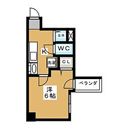 バインオーク イレブン[11階]の間取り