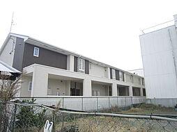大阪府高槻市芝生町1丁目の賃貸アパートの外観