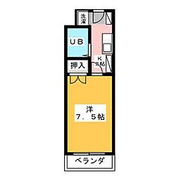 CASA NOAH八事[2階]の間取り