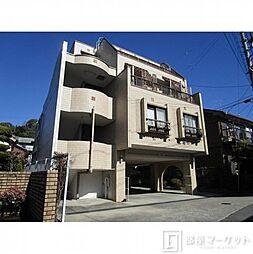 愛知県岡崎市明大寺町字山畔の賃貸マンションの外観
