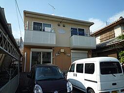 岡山県倉敷市美和1丁目の賃貸アパートの外観