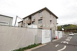 千葉県流山市中の賃貸アパートの外観