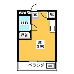 ジュエ狐ヶ崎マンション[2階]の間取り
