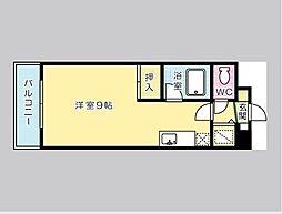 福岡県北九州市門司区柳町4丁目の賃貸マンションの間取り