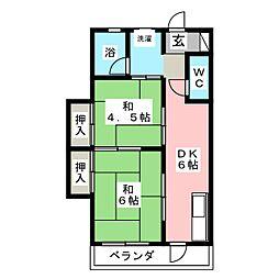 後藤ビル[3階]の間取り