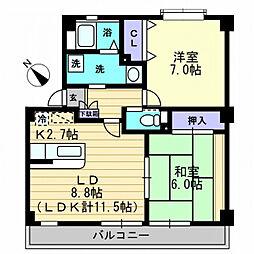 【敷金礼金0円!】サンモール北竹島