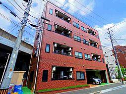 埼玉県新座市野火止5-の賃貸マンションの外観