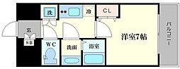 ファーストステージ江戸堀パークサイド[11階]の間取り