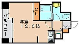 ラクレイス県庁口[3階]の間取り