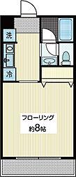 ビレッジSK[2階]の間取り