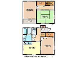 [一戸建] 長野県長野市大字三才 の賃貸【/】の間取り