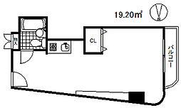 大倉山プレイス[2階]の間取り