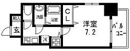 S-RESIDENCE緑橋駅前[801号室号室]の間取り