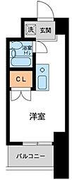 コスモヒロ南台[0403号室]の間取り