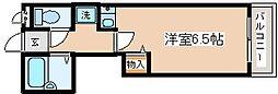 兵庫県神戸市長田区丸山町4丁目の賃貸アパートの間取り
