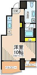 ラ・カルマ[4階]の間取り