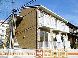 愛知県名古屋市南区鯛取通1の賃貸アパートの外観