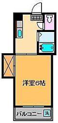 コーポシティ[3階]の間取り