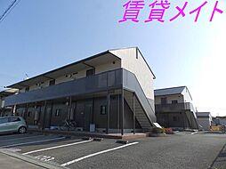 コーポMEIWA A・B[1階]の外観